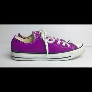 Converse All Star Chuck Taylor Women's 9 Purple